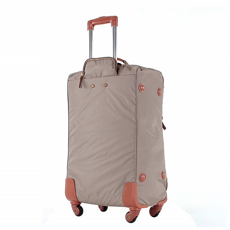 Brics X-Travel Spinner-Trolley 4-Rollen 65cm BXL38118 Taupe, Farbe: taupe/khaki, Manufacturer: Brics, Dimensions (cm): 40.0x65.0x24.0, Image 4 of 5