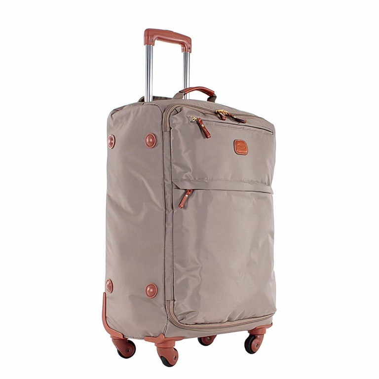 Brics X-Travel Spinner-Trolley 4-Rollen 65cm BXL38118 Taupe, Farbe: taupe/khaki, Manufacturer: Brics, Dimensions (cm): 40.0x65.0x24.0, Image 3 of 5