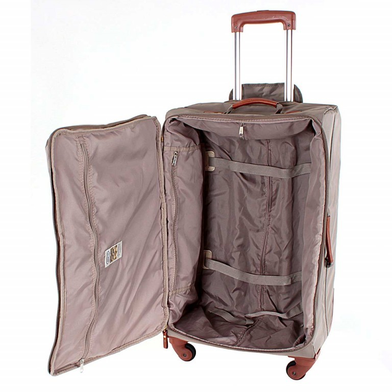Brics X-Travel Spinner-Trolley 4-Rollen 65cm BXL38118 Taupe, Farbe: taupe/khaki, Manufacturer: Brics, Dimensions (cm): 40.0x65.0x24.0, Image 5 of 5