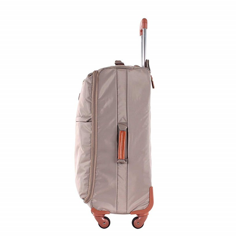 Brics X-Travel Spinner-Trolley 4-Rollen 65cm BXL38118 Taupe, Farbe: taupe/khaki, Manufacturer: Brics, Dimensions (cm): 40.0x65.0x24.0, Image 2 of 5