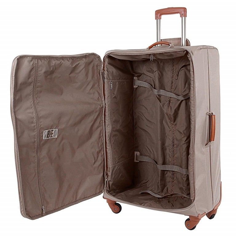 Brics X-Travel Spinner-Trolley 4-Rollen 75cm BXL38145 Taupe, Farbe: taupe/khaki, Manufacturer: Brics, Dimensions (cm): 48.0x77.0x26.0, Image 3 of 3