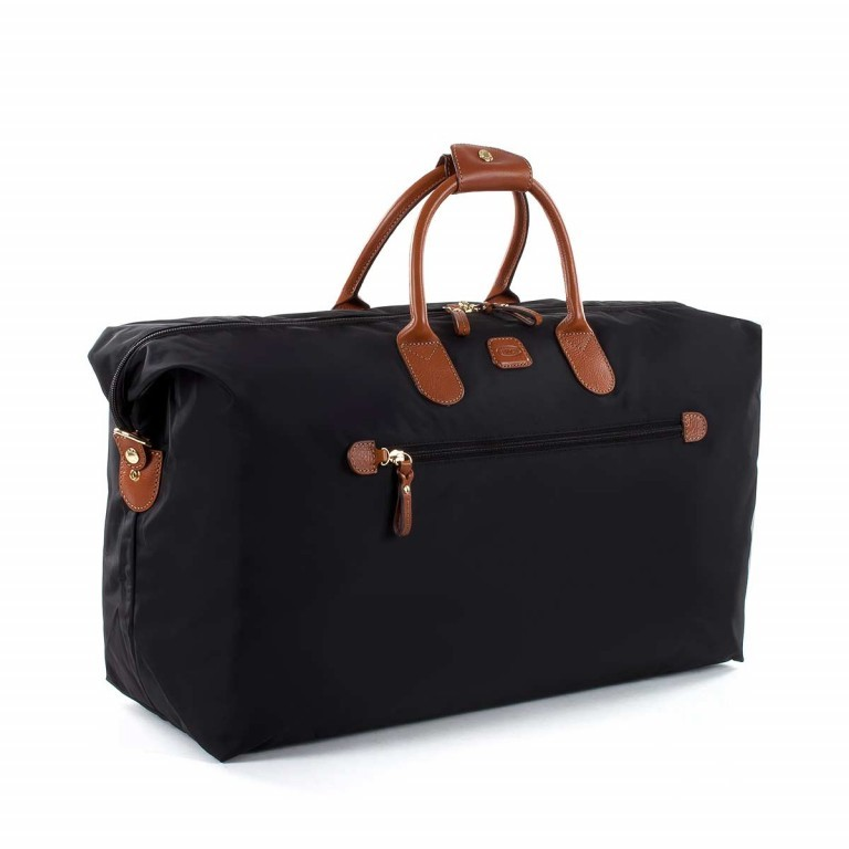 Brics X-Travel 2 in 1 Reisetasche Kurzgriff BXL30202 Schwarz, Farbe: schwarz, Marke: Brics, Abmessungen in cm: 55.0x32.0x20.0, Bild 2 von 5
