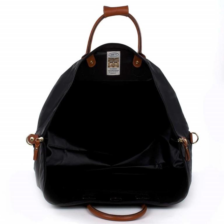 Brics X-Travel 2 in 1 Reisetasche Kurzgriff BXL30202 Schwarz, Farbe: schwarz, Marke: Brics, Abmessungen in cm: 55.0x32.0x20.0, Bild 4 von 5