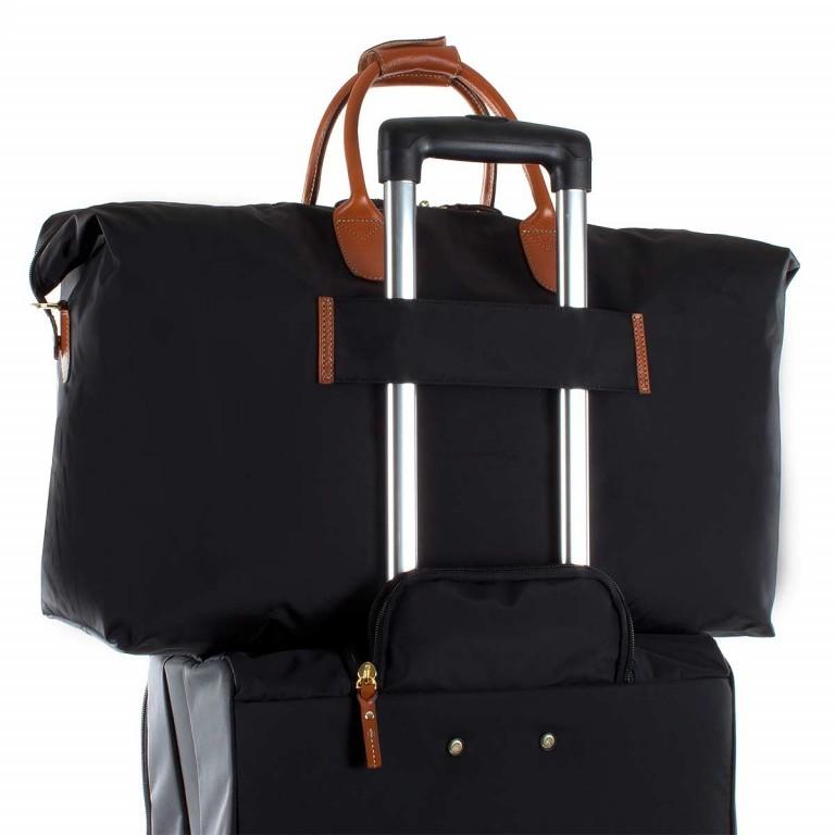 Brics X-Travel 2 in 1 Reisetasche Kurzgriff BXL30202 Schwarz, Farbe: schwarz, Marke: Brics, Abmessungen in cm: 55.0x32.0x20.0, Bild 5 von 5