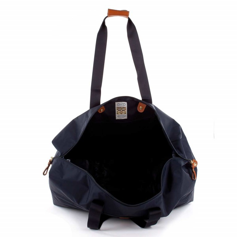 Brics X-Bag 2 in 1 Reisetasche Langgriff BXG30202 Blau, Farbe: blau/petrol, Marke: Brics, Abmessungen in cm: 55.0x32.0x20.0, Bild 4 von 5