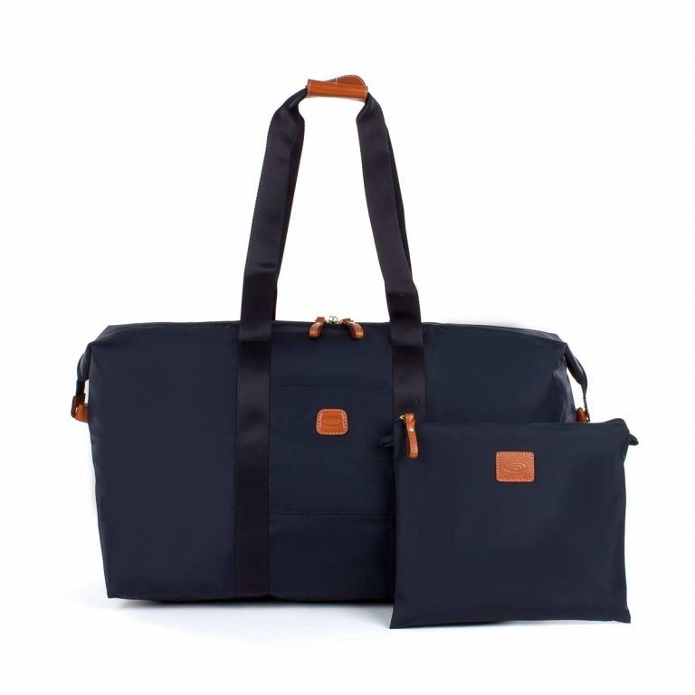 Brics X-Bag 2 in 1 Reisetasche Langgriff BXG30202 Blau, Farbe: blau/petrol, Marke: Brics, Abmessungen in cm: 55.0x32.0x20.0, Bild 3 von 5