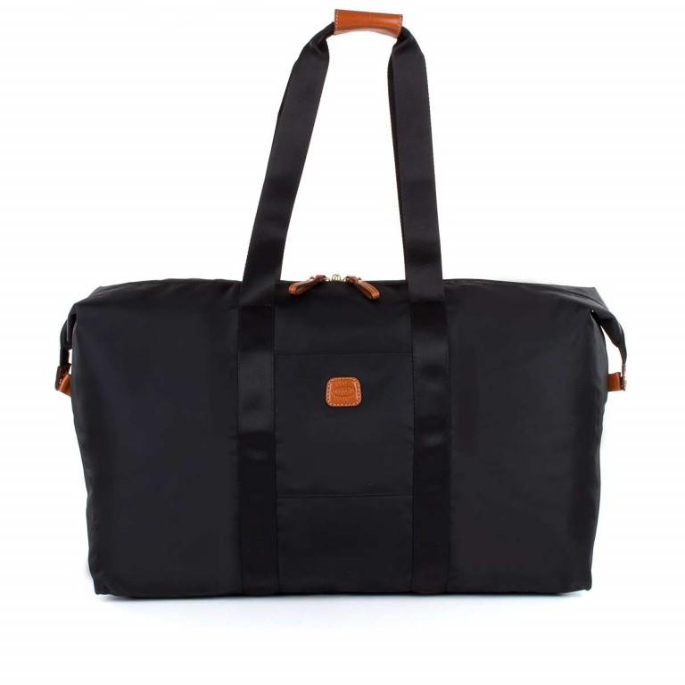 Brics X-Bag 2 in 1 Reisetasche Langgriff BXG30202 Schwarz, Farbe: schwarz, Marke: Brics, Abmessungen in cm: 55.0x32.0x20.0, Bild 1 von 5