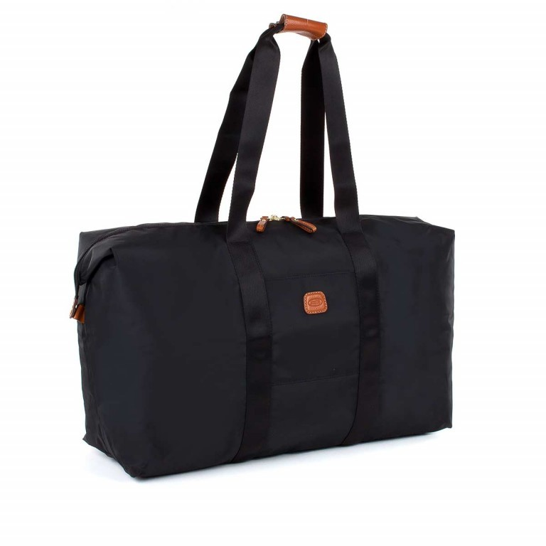 Brics X-Bag 2 in 1 Reisetasche Langgriff BXG30202 Schwarz, Farbe: schwarz, Marke: Brics, Abmessungen in cm: 55.0x32.0x20.0, Bild 2 von 5
