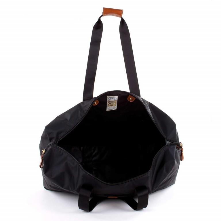 Brics X-Bag 2 in 1 Reisetasche Langgriff BXG30202 Schwarz, Farbe: schwarz, Marke: Brics, Abmessungen in cm: 55.0x32.0x20.0, Bild 4 von 5