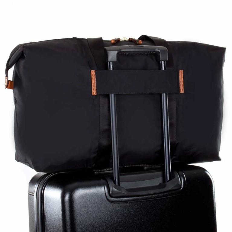 Brics X-Bag 2 in 1 Reisetasche Langgriff BXG30202 Schwarz, Farbe: schwarz, Marke: Brics, Abmessungen in cm: 55.0x32.0x20.0, Bild 5 von 5
