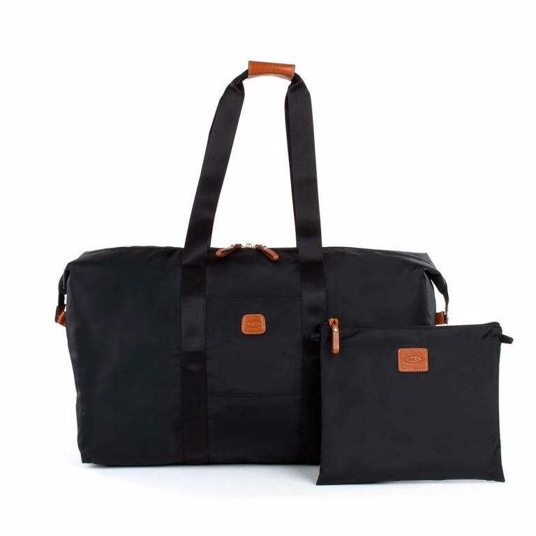 Brics X-Bag 2 in 1 Reisetasche Langgriff BXG30202 Schwarz, Farbe: schwarz, Marke: Brics, Abmessungen in cm: 55.0x32.0x20.0, Bild 3 von 5