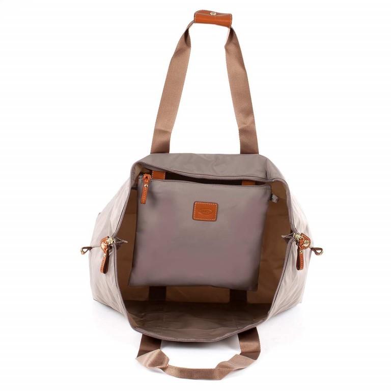 Brics X-Bag 2 in 1 Reisetasche Langgriff BXG30202 Taupe, Farbe: taupe/khaki, Marke: Brics, Abmessungen in cm: 55.0x32.0x20.0, Bild 4 von 5