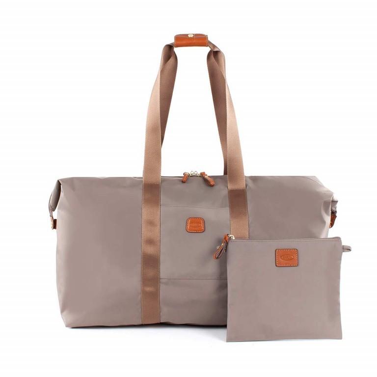 Brics X-Bag 2 in 1 Reisetasche Langgriff BXG30202 Taupe, Farbe: taupe/khaki, Marke: Brics, Abmessungen in cm: 55.0x32.0x20.0, Bild 3 von 5