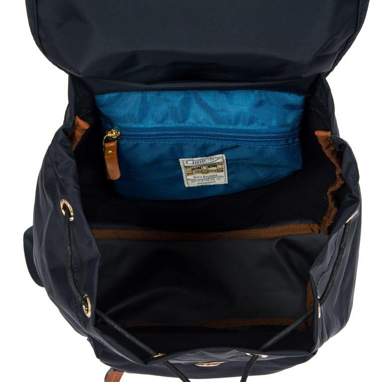 Brics X-Travel Rucksack BXL40597-50 Ocean Blue, Farbe: blau/petrol, Marke: Brics, Abmessungen in cm: 30.0x34.0x14.0, Bild 5 von 7