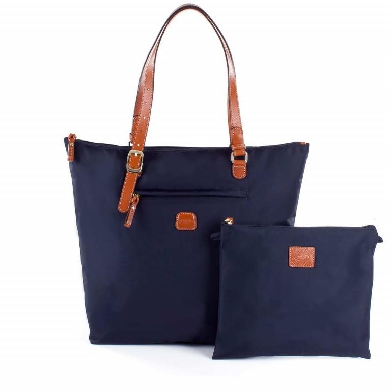 Brics X-Bag 3 in 1 Shopper L BXG35070 Blau, Farbe: blau/petrol, Marke: Brics, Abmessungen in cm: 35.0x34.0x15.0, Bild 2 von 5