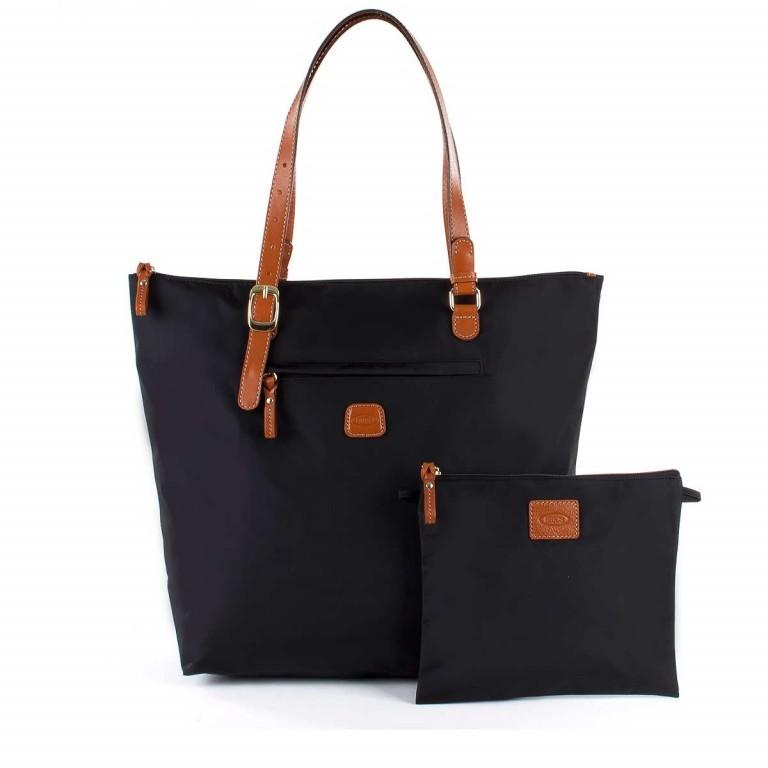 Brics X-Bag 3 in 1 Shopper L BXG35070 Schwarz, Farbe: schwarz, Marke: Brics, Abmessungen in cm: 35.0x34.0x15.0, Bild 2 von 5