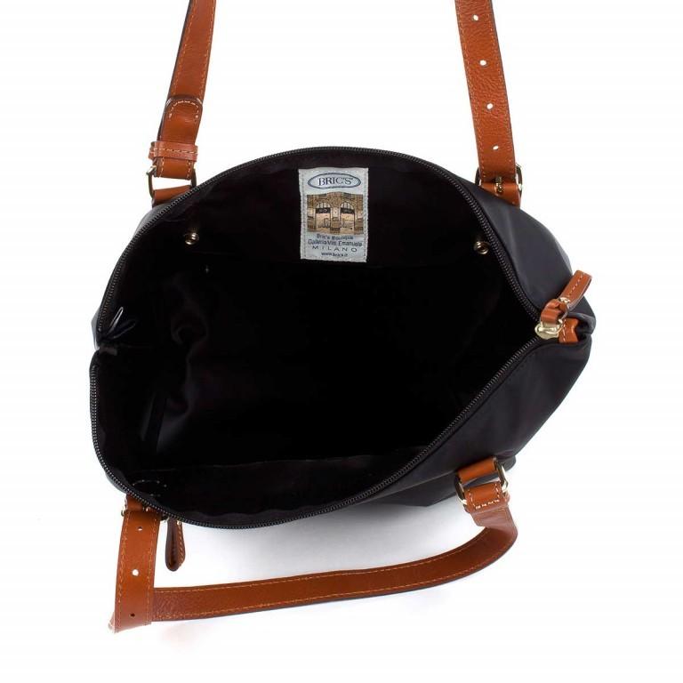 Brics X-Bag 3 in 1 Shopper L BXG35070 Schwarz, Farbe: schwarz, Marke: Brics, Abmessungen in cm: 35.0x34.0x15.0, Bild 3 von 5