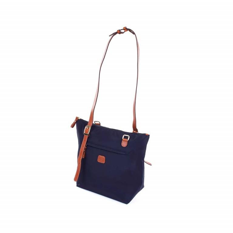 Brics X-Bag 3 in 1 Shopper M BXG35071 Blau, Farbe: blau/petrol, Marke: Brics, Abmessungen in cm: 26.0x27.0x15.0, Bild 4 von 5