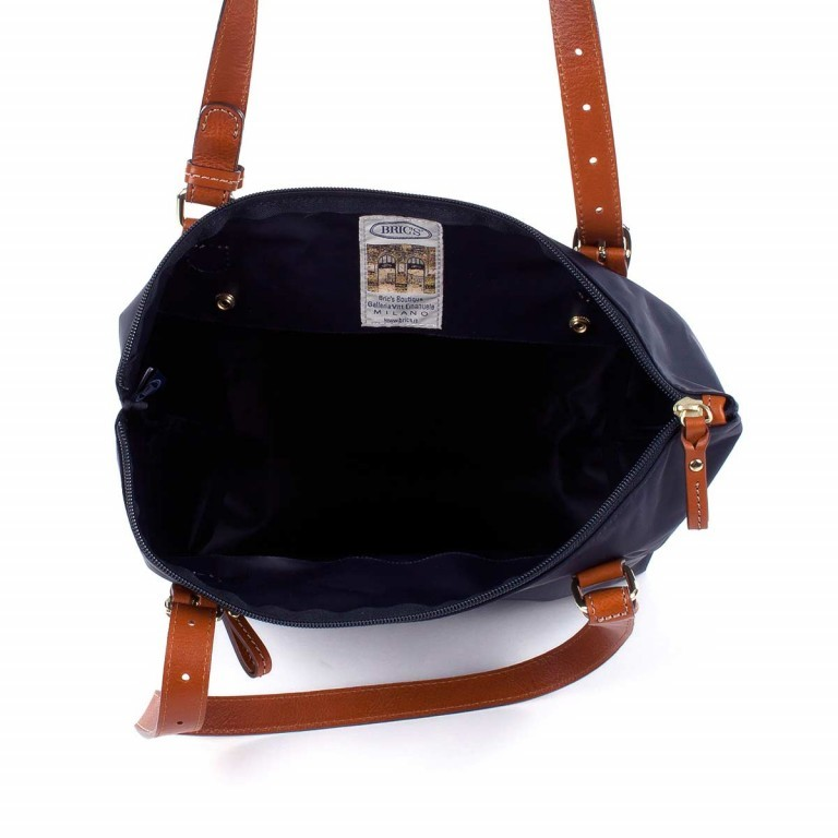 Brics X-Bag 3 in 1 Shopper M BXG35071 Blau, Farbe: blau/petrol, Marke: Brics, Abmessungen in cm: 26.0x27.0x15.0, Bild 3 von 5