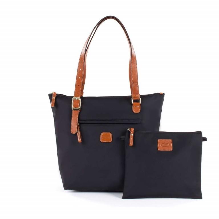 Brics X-Bag 3 in 1 Shopper M BXG35071 Schwarz, Farbe: schwarz, Marke: Brics, Abmessungen in cm: 26.0x27.0x15.0, Bild 2 von 5