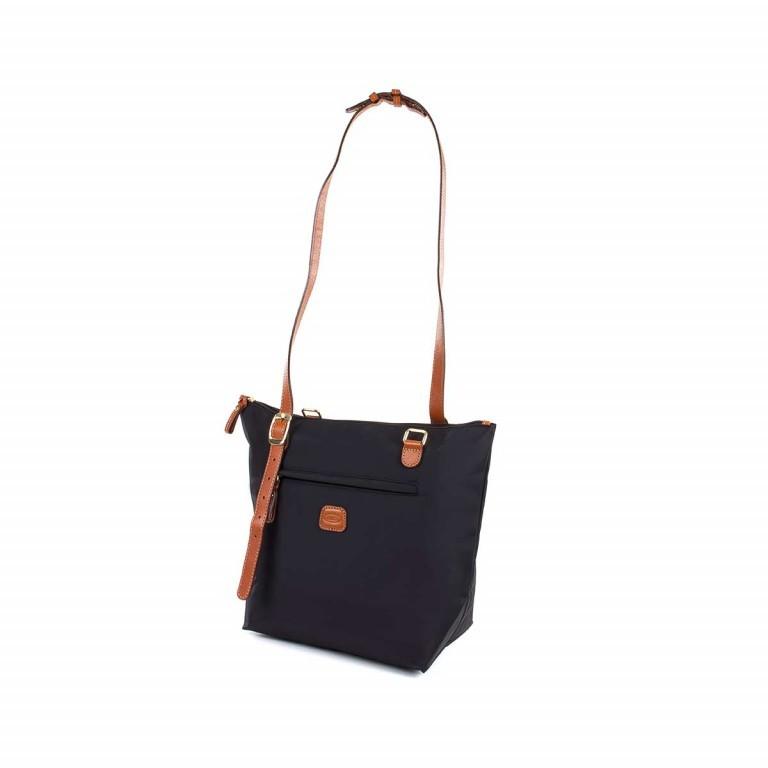 Brics X-Bag 3 in 1 Shopper M BXG35071 Schwarz, Farbe: schwarz, Marke: Brics, Abmessungen in cm: 26.0x27.0x15.0, Bild 4 von 5