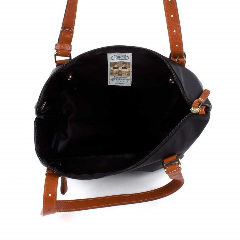 Brics X-Bag 3 in 1 Shopper M BXG35071 Schwarz, Farbe: schwarz, Marke: Brics, Abmessungen in cm: 26.0x27.0x15.0, Bild 3 von 5
