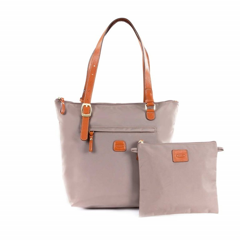 Brics X-Bag 3 in 1 Shopper M BXG35071 Taupe, Farbe: taupe/khaki, Marke: Brics, Abmessungen in cm: 26.0x27.0x15.0, Bild 2 von 5