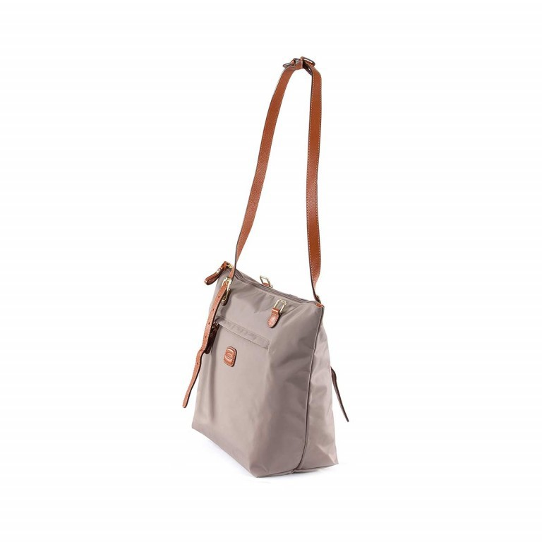 Brics X-Bag 3 in 1 Shopper M BXG35071 Taupe, Farbe: taupe/khaki, Marke: Brics, Abmessungen in cm: 26.0x27.0x15.0, Bild 4 von 5