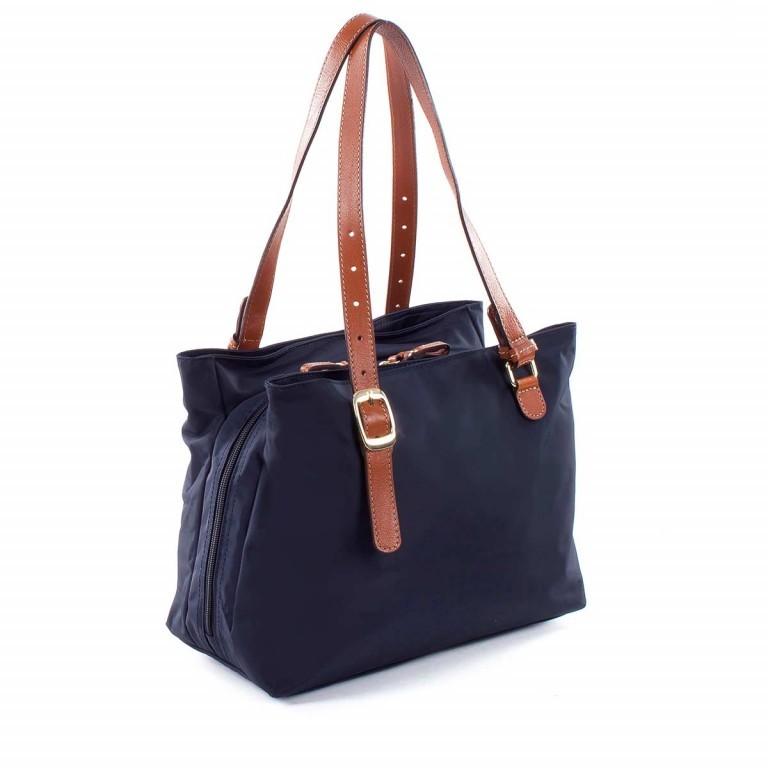 Brics X-Bag 3-Fächer Shopper M BXG35282 Blau, Farbe: blau/petrol, Marke: Brics, Abmessungen in cm: 32.0x25.0x15.0, Bild 3 von 4