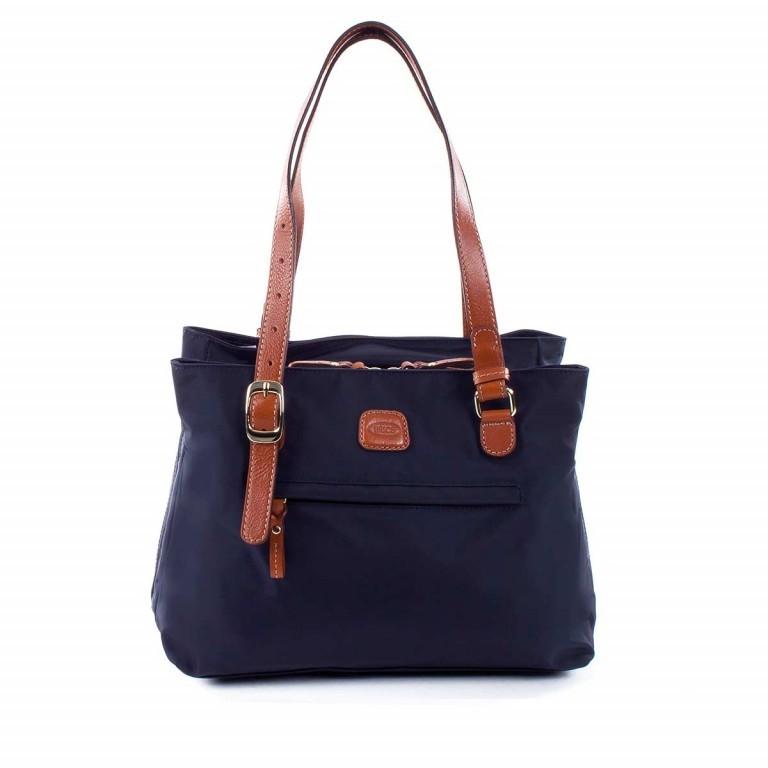 Brics X-Bag 3-Fächer Shopper M BXG35282 Blau, Farbe: blau/petrol, Marke: Brics, Abmessungen in cm: 32.0x25.0x15.0, Bild 1 von 4