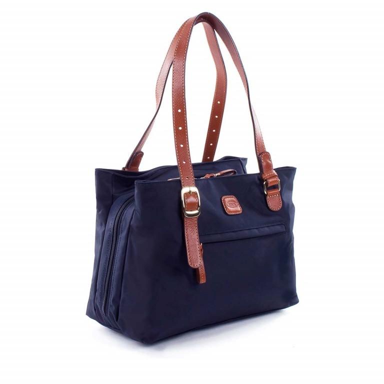 Brics X-Bag 3-Fächer Shopper M BXG35282 Blau, Farbe: blau/petrol, Marke: Brics, Abmessungen in cm: 32.0x25.0x15.0, Bild 2 von 4