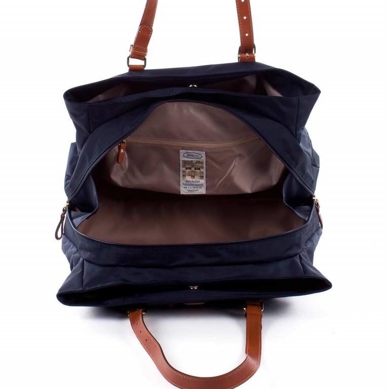Brics X-Bag 3-Fächer Shopper M BXG35282 Blau, Farbe: blau/petrol, Marke: Brics, Abmessungen in cm: 32.0x25.0x15.0, Bild 4 von 4