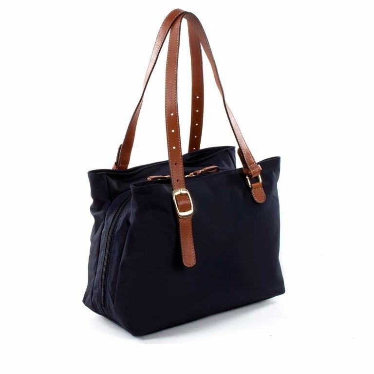 Brics X-Bag 3-Fächer Shopper M BXG35282 Schwarz, Farbe: schwarz, Marke: Brics, Abmessungen in cm: 32.0x25.0x15.0, Bild 3 von 4