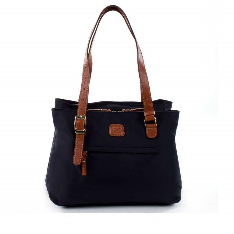 Brics X-Bag 3-Fächer Shopper M BXG35282 Schwarz, Farbe: schwarz, Marke: Brics, Abmessungen in cm: 32.0x25.0x15.0, Bild 1 von 4