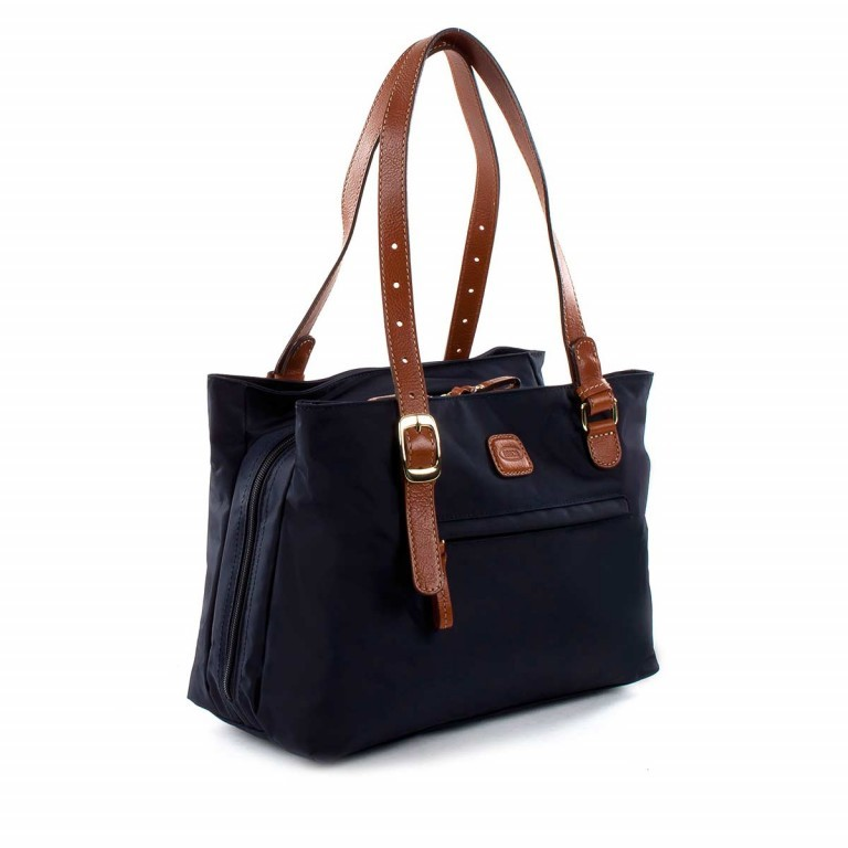 Brics X-Bag 3-Fächer Shopper M BXG35282 Schwarz, Farbe: schwarz, Marke: Brics, Abmessungen in cm: 32.0x25.0x15.0, Bild 2 von 4