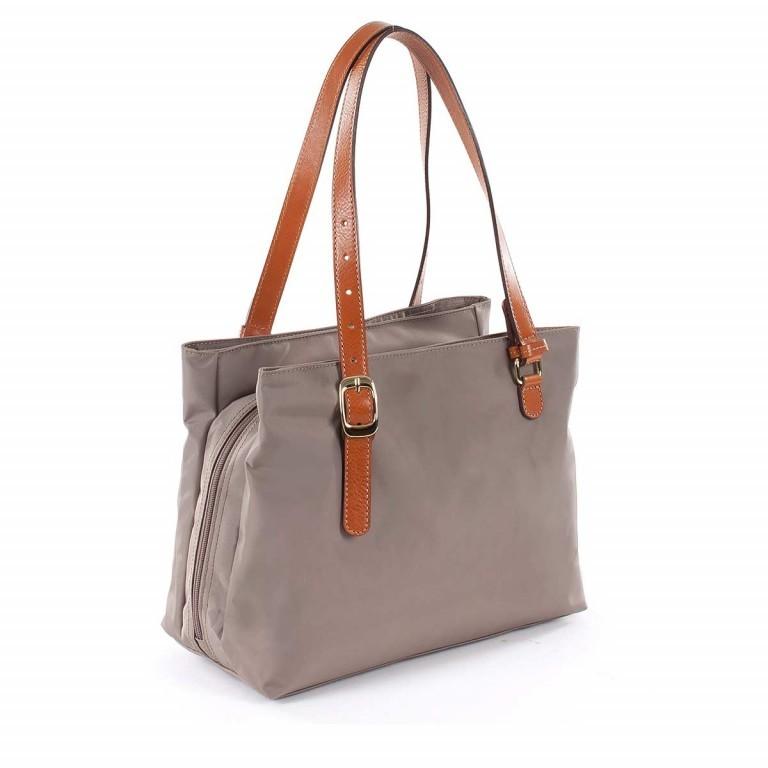 Brics X-Bag 3-Fächer Shopper M BXG35282 Taupe, Farbe: taupe/khaki, Marke: Brics, Abmessungen in cm: 32.0x25.0x15.0, Bild 3 von 4