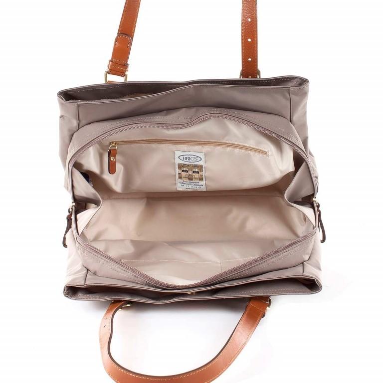 Brics X-Bag 3-Fächer Shopper M BXG35282 Taupe, Farbe: taupe/khaki, Marke: Brics, Abmessungen in cm: 32.0x25.0x15.0, Bild 4 von 4