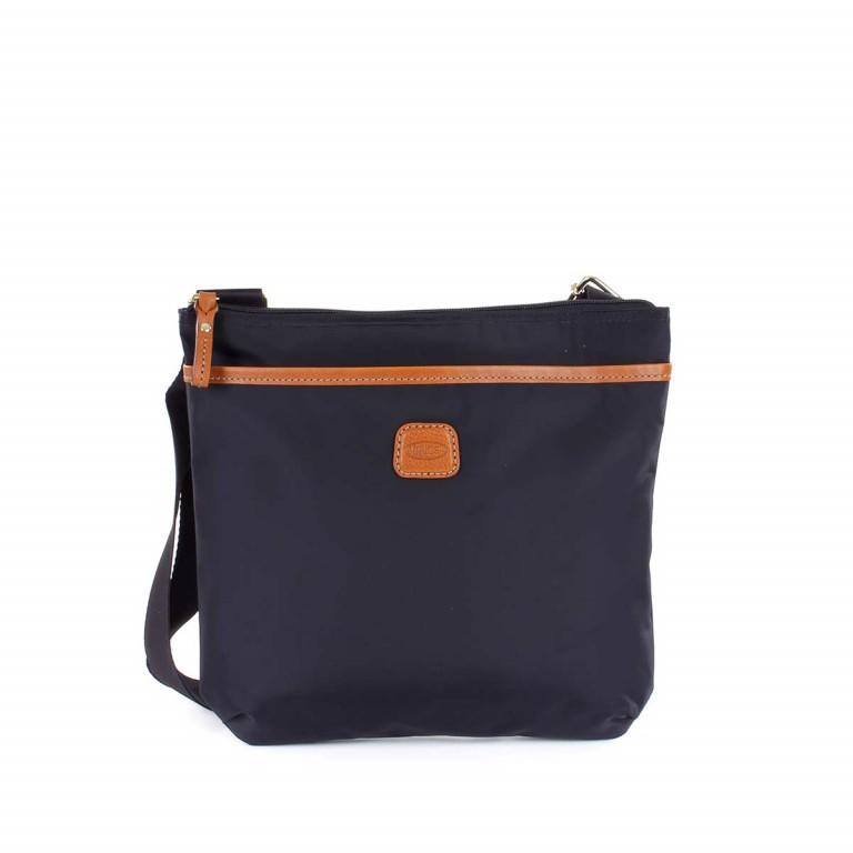Brics X-Bag Crossbag BXG32733 Blau, Farbe: blau/petrol, Marke: Brics, Abmessungen in cm: 27.0x25.0x4.0, Bild 1 von 4