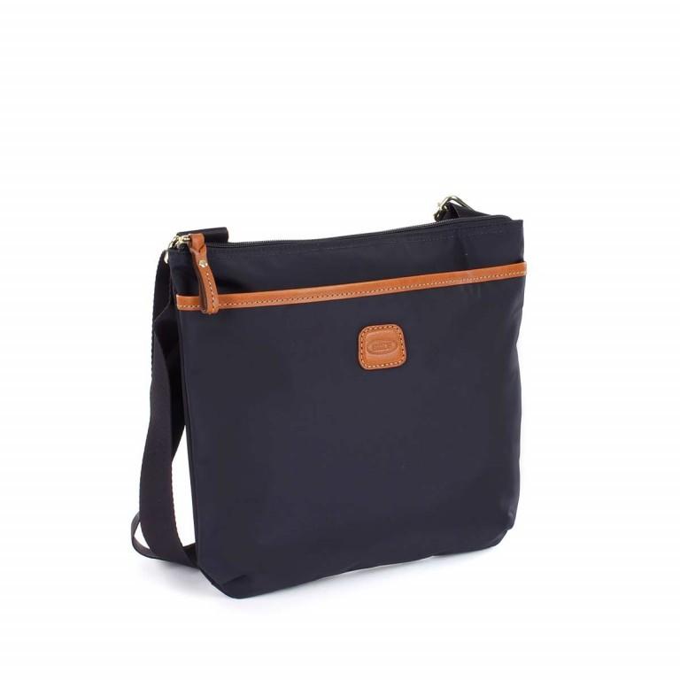 Brics X-Bag Crossbag BXG32733 Blau, Farbe: blau/petrol, Marke: Brics, Abmessungen in cm: 27.0x25.0x4.0, Bild 3 von 4