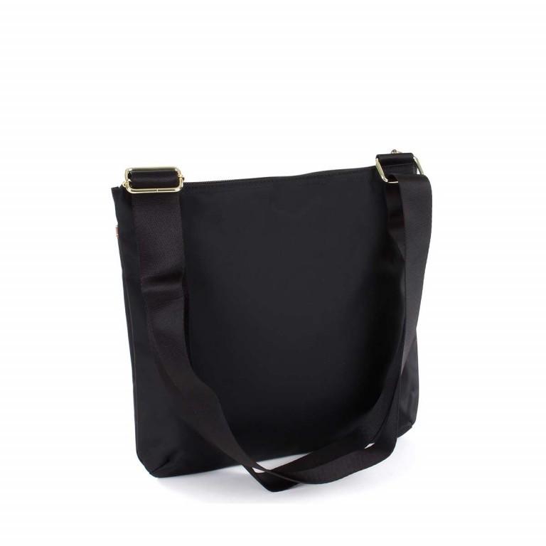 Brics X-Bag Crossbag BXG32733 Schwarz, Farbe: schwarz, Marke: Brics, Abmessungen in cm: 27.0x25.0x4.0, Bild 2 von 4