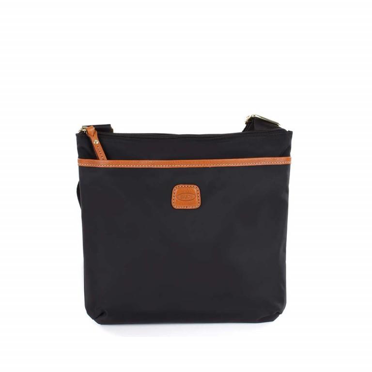 Brics X-Bag Crossbag BXG32733 Schwarz, Farbe: schwarz, Marke: Brics, Abmessungen in cm: 27.0x25.0x4.0, Bild 1 von 4