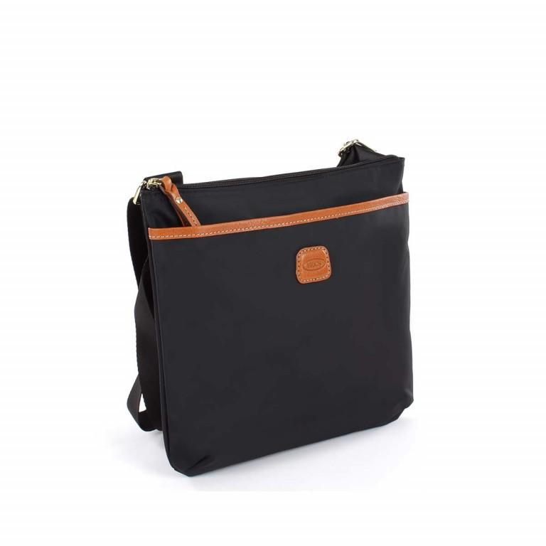 Brics X-Bag Crossbag BXG32733 Schwarz, Farbe: schwarz, Marke: Brics, Abmessungen in cm: 27.0x25.0x4.0, Bild 3 von 4
