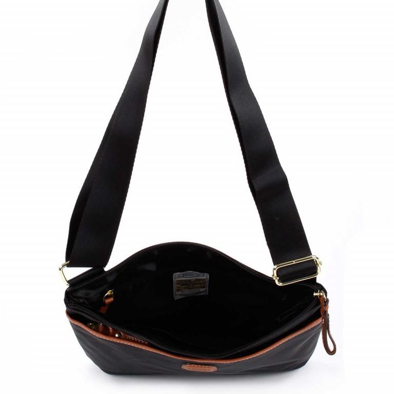 Brics X-Bag Crossbag BXG32733 Schwarz, Farbe: schwarz, Marke: Brics, Abmessungen in cm: 27.0x25.0x4.0, Bild 4 von 4