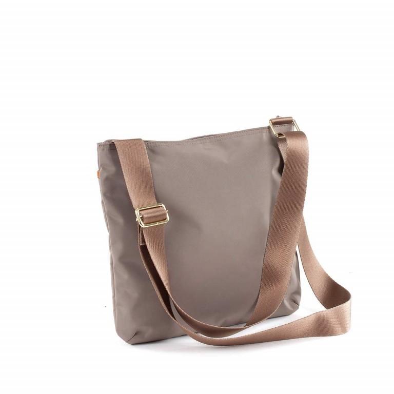 Brics X-Bag Crossbag BXG32733 Taupe, Farbe: taupe/khaki, Marke: Brics, Abmessungen in cm: 27.0x25.0x4.0, Bild 2 von 4