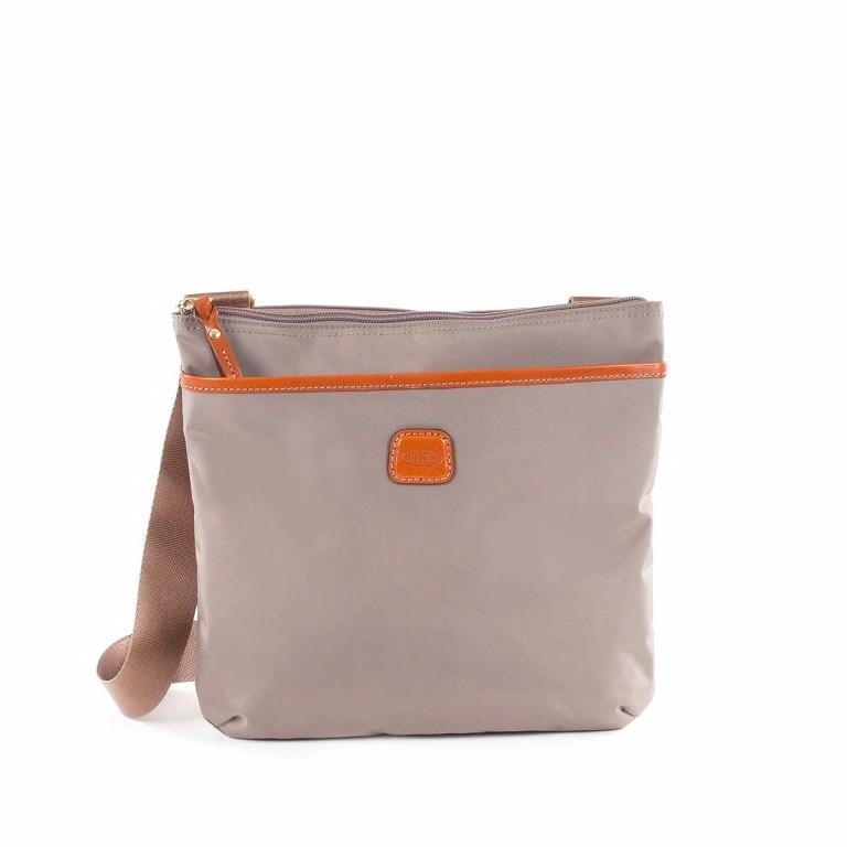 Brics X-Bag Crossbag BXG32733 Taupe, Farbe: taupe/khaki, Marke: Brics, Abmessungen in cm: 27.0x25.0x4.0, Bild 1 von 4
