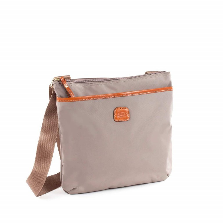 Brics X-Bag Crossbag BXG32733 Taupe, Farbe: taupe/khaki, Marke: Brics, Abmessungen in cm: 27.0x25.0x4.0, Bild 3 von 4