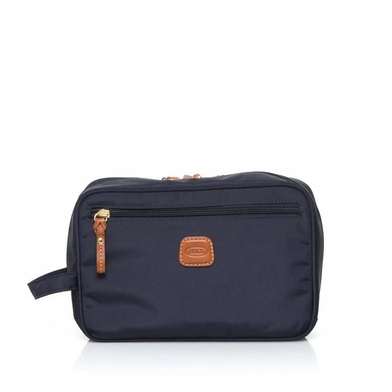 Brics X-Bag Kulturbeutel BXG3060 Blau, Farbe: blau/petrol, Marke: Brics, Abmessungen in cm: 25.0x17.0x9.0, Bild 1 von 3