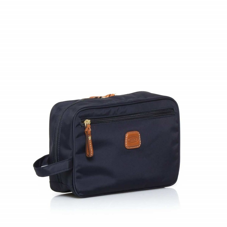 Brics X-Bag Kulturbeutel BXG3060 Blau, Farbe: blau/petrol, Marke: Brics, Abmessungen in cm: 25.0x17.0x9.0, Bild 2 von 3