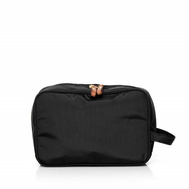 Brics X-Bag Kulturbeutel BXG3060 Schwarz, Farbe: schwarz, Marke: Brics, Abmessungen in cm: 25.0x17.0x9.0, Bild 3 von 3