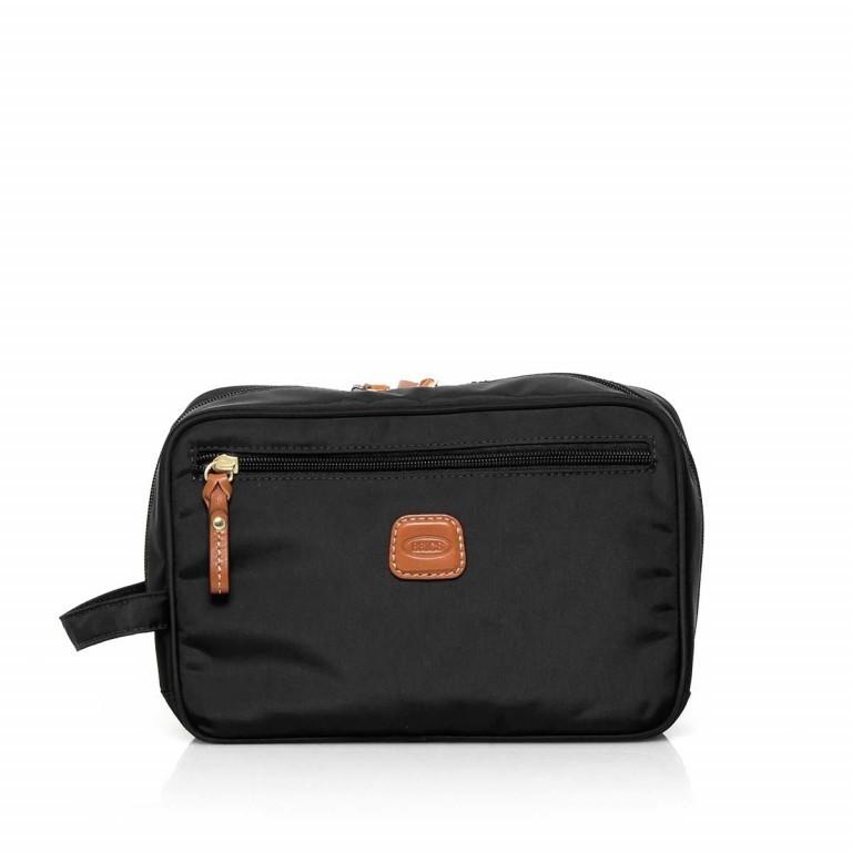 Brics X-Bag Kulturbeutel BXG3060 Schwarz, Farbe: schwarz, Marke: Brics, Abmessungen in cm: 25.0x17.0x9.0, Bild 1 von 3